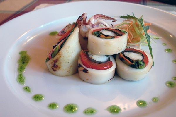 Кальмары фаршированные овощами рецепты